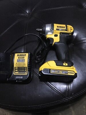 "DEWALT 20V MAX XR Li-Ion 3/8"" Impact Wrench Kit w/ HR Anvil DCF883 New"
