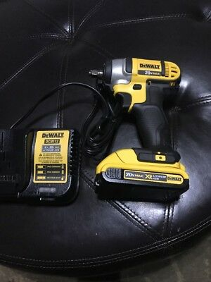 "DEWALT DCF883 20V MAX XR Li-Ion 3/8"" Impact Wrench Kit w/ HR Anvil DCF883 New"