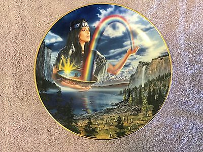 Royal Doulton Decorative Plate - Rainbow Maiden - Limited Edition
