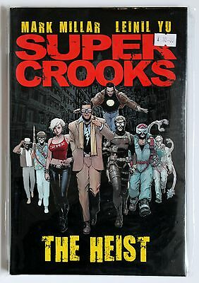 Super Crooks: The Heist (Titan Books Hardcover Graphic Novel), New