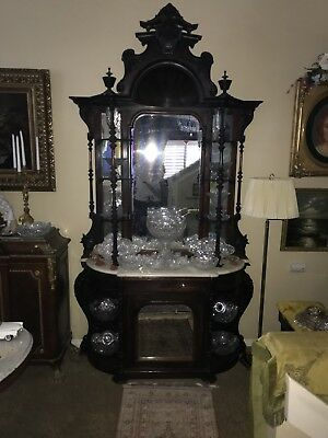 Rosewood Victorian Etagere