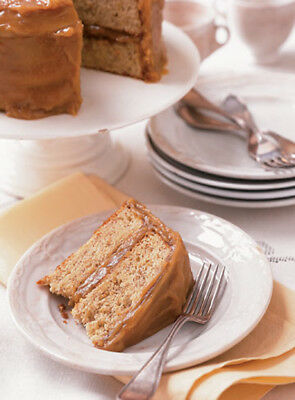 new hot resep Banana-Caramel Cake resep in pdf