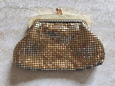 OROTON Made In West Germany GOLD GLOMESH Coin Purse Beautiful Condition Vintage