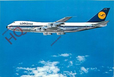 Picture Postcard- LUFTHANSA BOEING 747 [AIRLINE ISSUE]