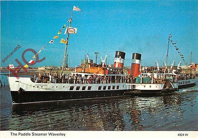 Picture Postcard- PADDLE STEAMER WAVERLEY
