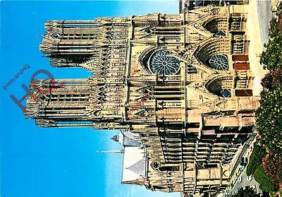 Picture Postcard- Reims, Cathedral
