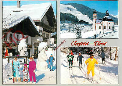 Picture Postcard- Seefeld (Multiview) Skiing