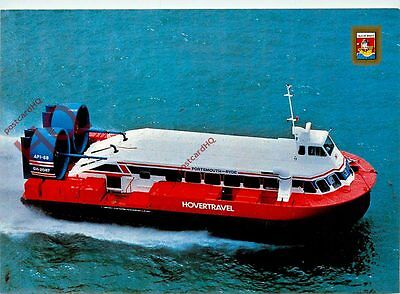 Picture Postcard; HOVERCRAFT, HOVERTRAVEL, RYDE-SOUTHSEA, AP1-88