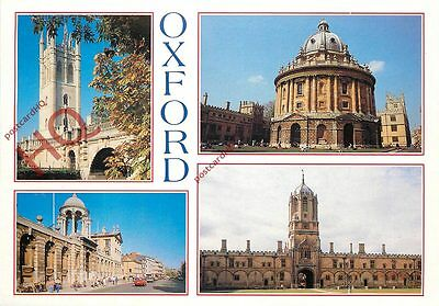 Picture Postcard; Oxford (Multiview) Colleges