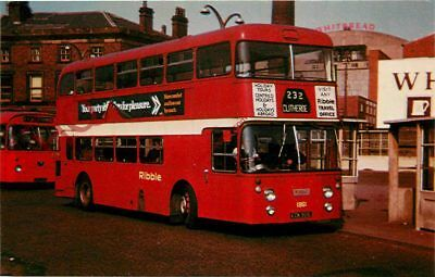 Picture Postcard; Ribble 1951 Leyland PDR1/2 Bus