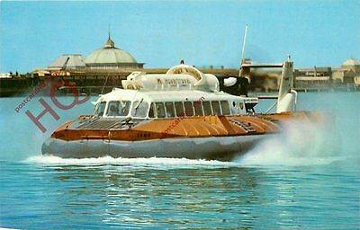 Picture Postcard:;S.R.N.6. Hovercraft, Ryde