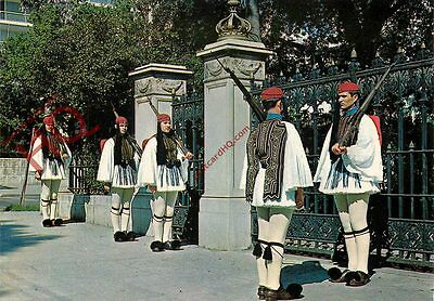Picture Postcard-:Athens, Guard