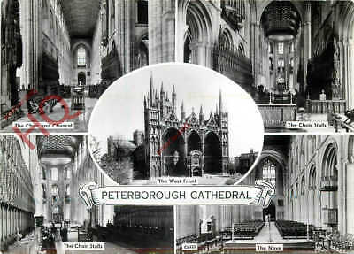 Picture Postcard~ Peterborough Cathedral (Multiview)
