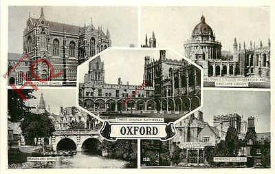 Picture Postcard~ Oxford (Multiview)