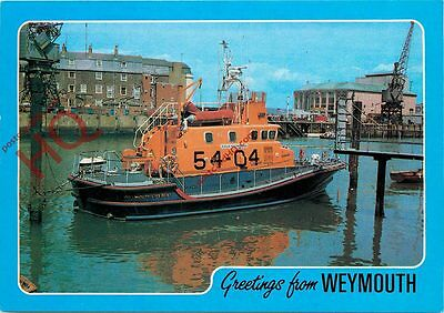 Picture Postcard~ The Weymouth Lifeboat