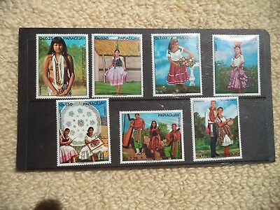 Paraguay - National Costumes - 1974