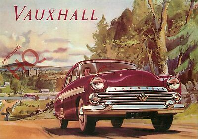 Picture Postcard: VAUXHALL CAR (REPRO)