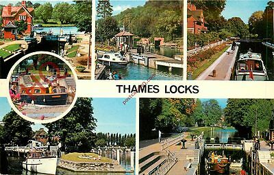 Picture Postcard: Thames Locks (Multiview)