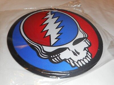 """Grateful Dead STEAL YOUR FACE 8"""" Round MOUSE PAD - NEW"""