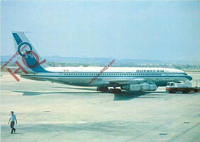 Picture Postcard, Quebecair Boeing 707