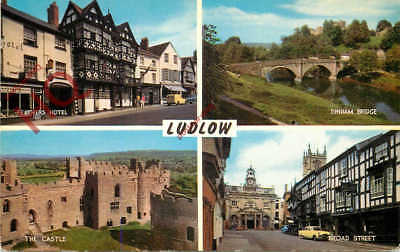 Picture Postcard::Ludlow (Multiview) [Salmon]
