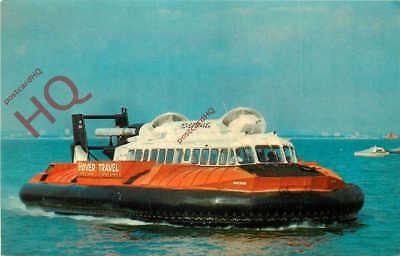 Picture Postcard-:SRN6 HOVERCRAFT, WINCHESTER CLASS, HOVER TRAVEL