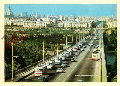 Picture Postcard: Moscow, Road