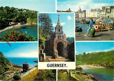 Picture Postcard-:Guernsey (Multiview)