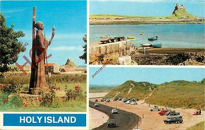 Picture Postcard:-Holy Island (Multiview)