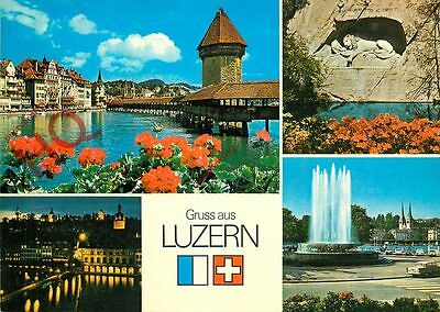 Picture Postcard-:Luzern, Lucerne (Multiview)