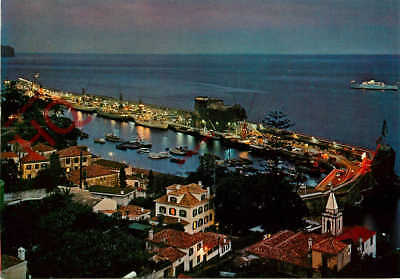 Picture Postcard:-Madeira, Funchal, The Port