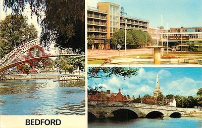 Picture Postcard--Bedford (Multiview)