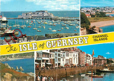 Picture Postcard--Guernsey (Multiview) [Bamforth]