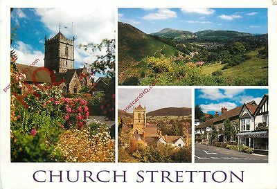 Picture Postcard--Church Stretton (Multiview)