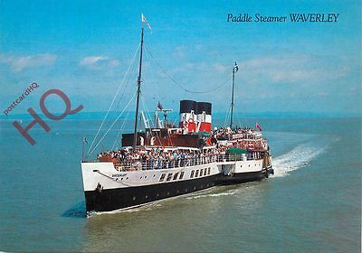 Picture Postcard--PADDLE STEAMER WAVERLEY