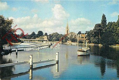 Picture Postcard--Marlow, The Weir