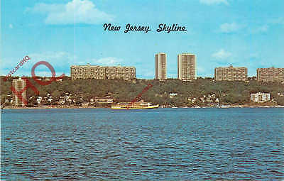 Picture Postcard--New Jersey, Skyline