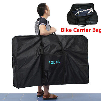 26'' Waterproof Folding Bicycle Carrier Bag Carry Storage Cover Mountain Bike