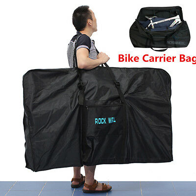 "Lightweight Bike Bag For Road Mountain Bikes up to 26"" MTB Travel Case -Airplane"