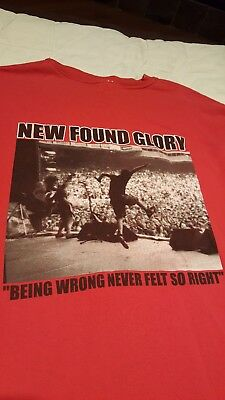 New Found Glory Vintage T-Shirt (adult xl)