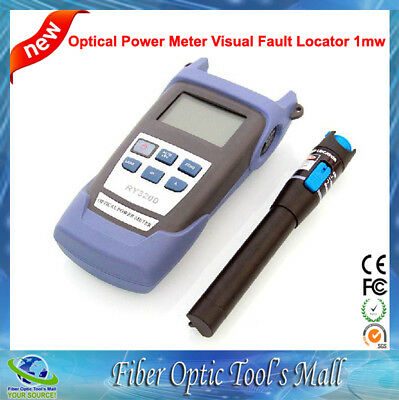2 In 1 FTTH Fiber Kit with Optical Power Meter and 1mw Fiber