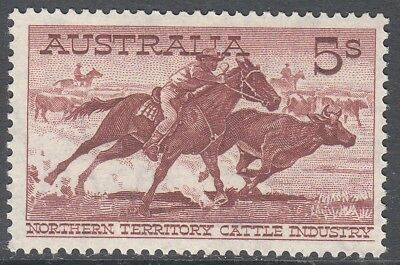 Nice Australia commonwealth 1964 rare 5/- Cattle White Paper MNH MUH