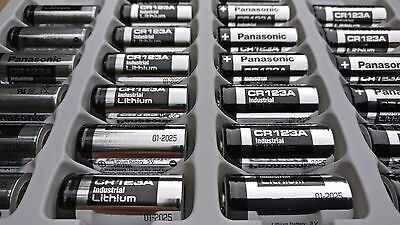 10x Panasonic CR123A 3V Lithium Photo Battery 123 CR123 DL123 CR17345 New