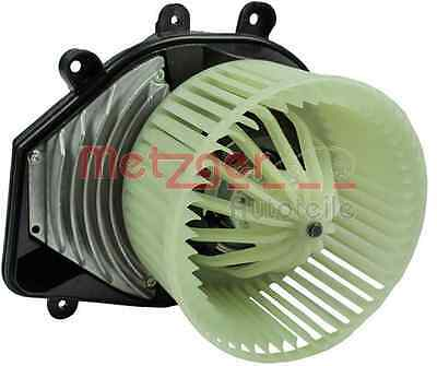 Heater Blower Fan Audi VW Skoda - Metzger 0917124