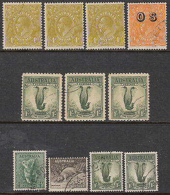 Nice Australia Commonwealth commemorative set cancelled to order CTO issues