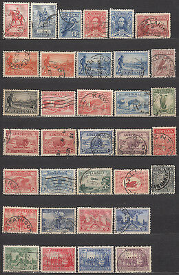 Nice huge Australia collection of used commemorative stamps