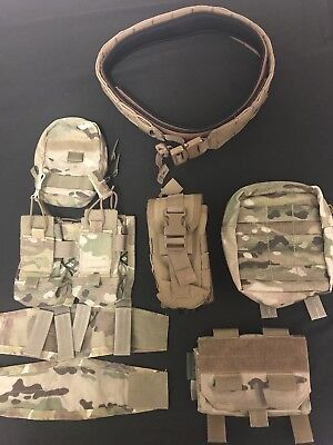 Range Belt, Hsgi, Warrior, Ferro Concepts, C2r Multicam, coyote brown, Molle