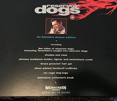 Reservoir Dogs Collector's Edition Video Box Set.