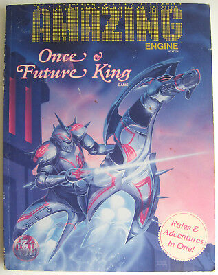 Once & Future King - Amazing Engine System - RPG Role-playing Game Rulebook