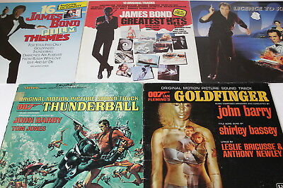 James Bond, Filmmusik - Sammlung 5 LP's